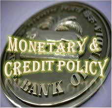 rbi monetory and credit policy