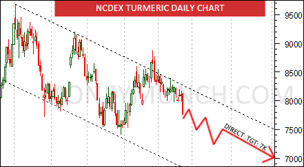 ncdex turmeric chart tips