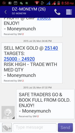 mcx gold live tips