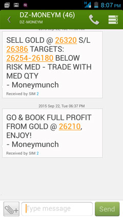 commodity gold tips