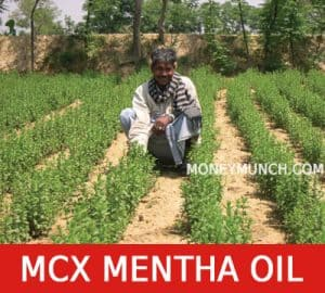 free commodity mentha oil intraday tips