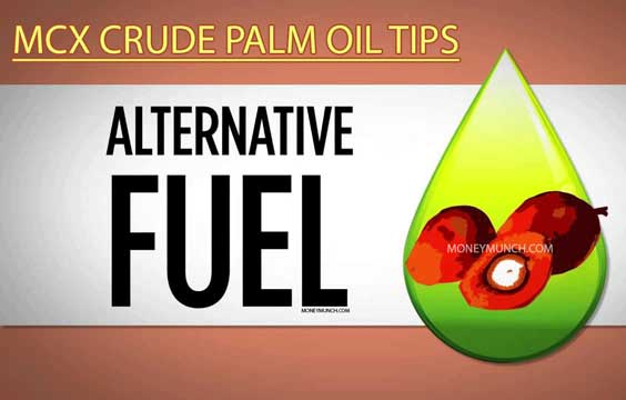 mcx cpo crude palm oil intraday tips