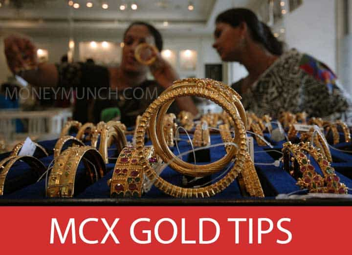 mcx gold intraday tips