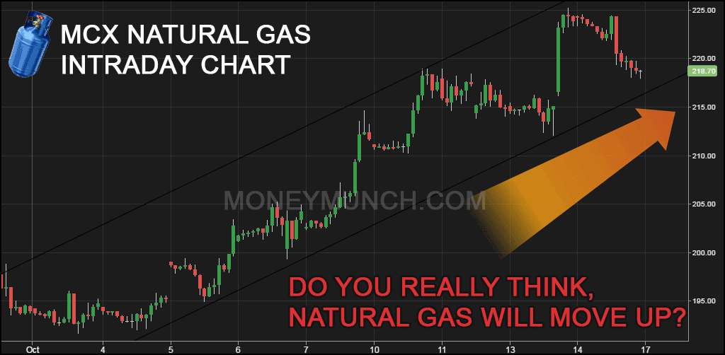 Natural Gas Price History In Mcx