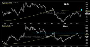 gold silver daily chart & tips