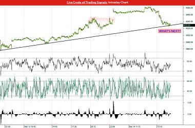 crude oil calls & charts